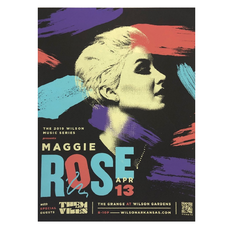 Maggie Rose Large Poster